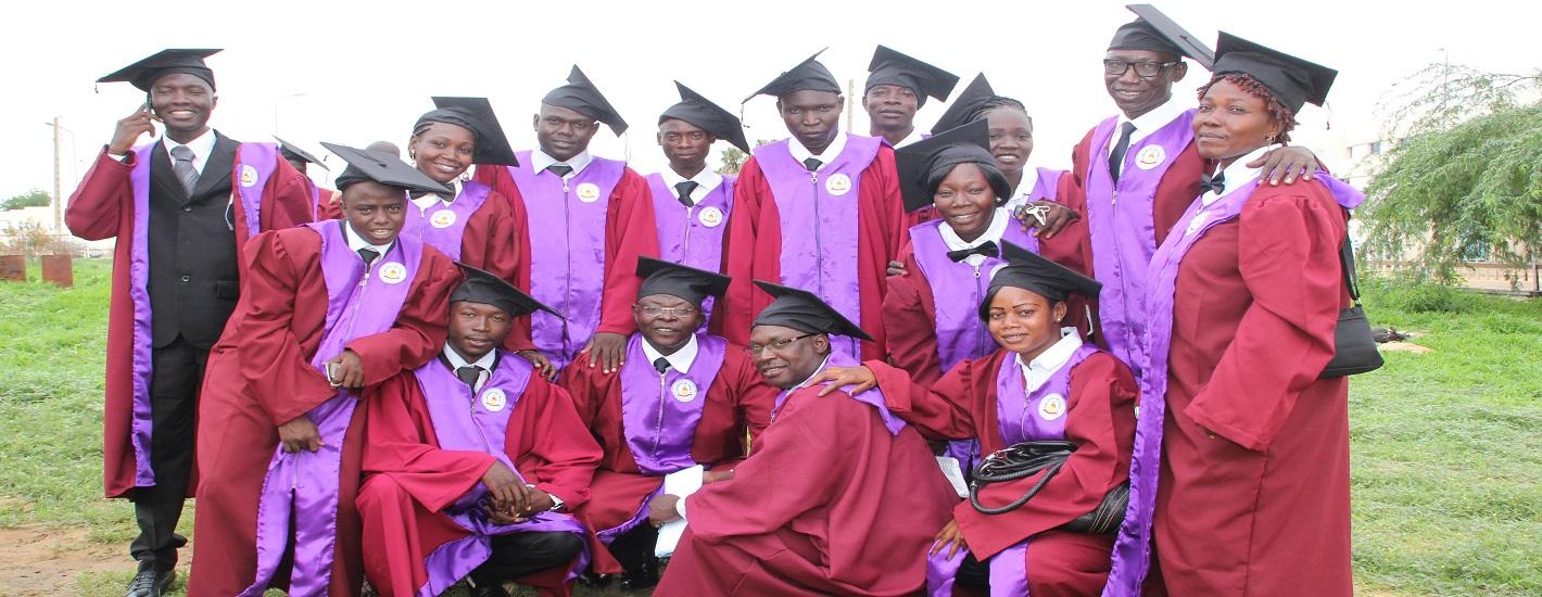 Graduation des étudiants